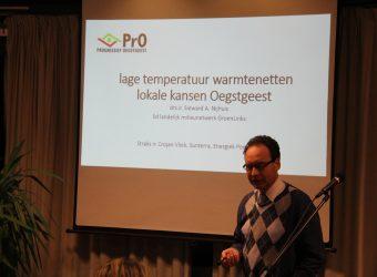 Bijeenkomst van PrO over gasloos en duurzaam: ook Oegstgeest ontkomt er niet aan.
